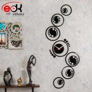 ساعت دیواری فانتزی طرح نارسیس در چهار رنگ
