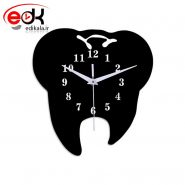 ساعت دیواری فانتزی طرح دندان