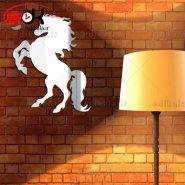 اینه دکوراتیو دیواری فانتزی طرح اسب