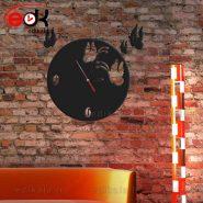 ساعت دیواری فانتزی طرح پروانه شماره 2