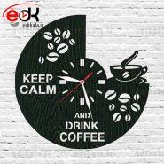 ساعت دیواری فانتزی طرح کافه