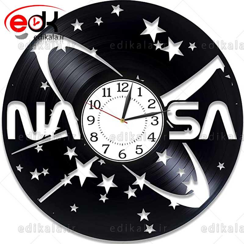 ساعت دیواری فانتزی طرح NASA